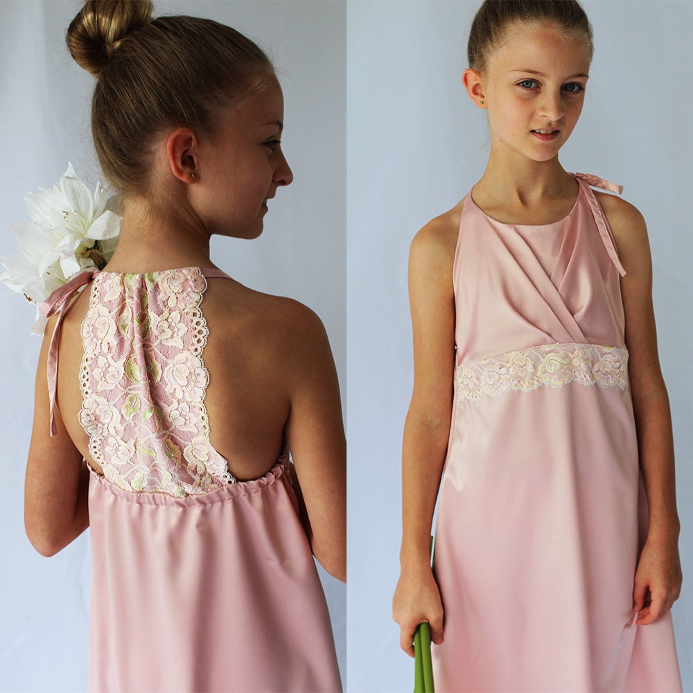 Girls sewing pattern girls dress pattern bridesmaid dress zoom ombrellifo Images