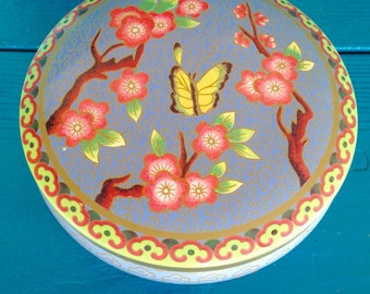 Daher Decorated Tin with Lid
