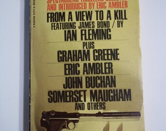 To Catch a Spy ed. by Eric Ambler Bantam Books 1966 Vintage Mystery Paperback