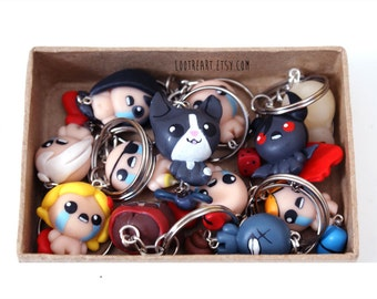 The Binding Of Isaac Rebirth phone Charm (Any character)