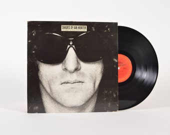 SHADES of IAN HUNTER - The Ballad of Ian Hunter & Mott The Hoople - vinyl record