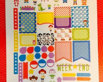 You Are a TOY Weekly Planner Stickers Set, for use with Erin Condren Life Planner, Happy Planner
