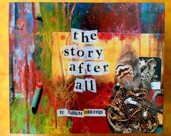 the story after all. art book. art journal. [expresspost]