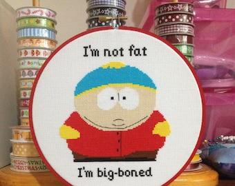 South Park Cartman Cross Stitch Pattern