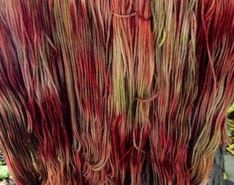 Hand dyed 100% Merino Worsted