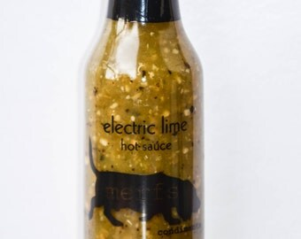 Electric Lime Hot Sauce