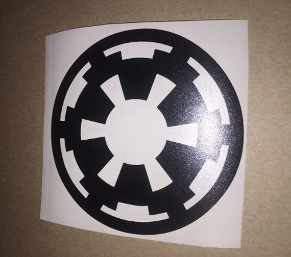 star wars imperial vinyl decal sticker free by jerseycustomz. Black Bedroom Furniture Sets. Home Design Ideas