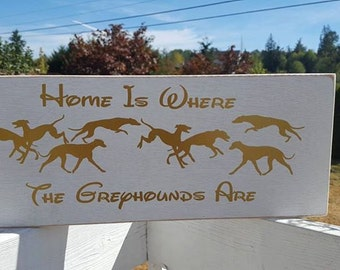 Home is where the greyhounds are