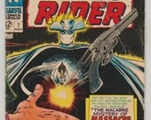 Ghost Rider; Vol 1, 7, Silver Age Comic Book. VG- (3.5). November 1967. Marvel Comics
