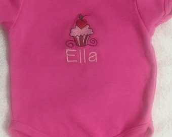 Personalized embroidered onesies