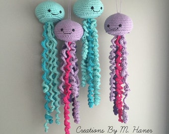 Jelly Fish Stuffed Toy (Made To Order)