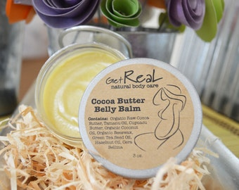 Cocoa Butter Belly Balm