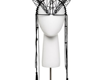 Nova 3D Printed Headpiece