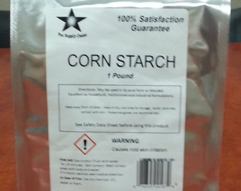 Corn Starch FCC/ Food Grade 1 Lb Pack 9883