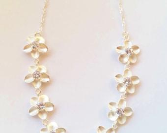 Dreamy Flowers Collier