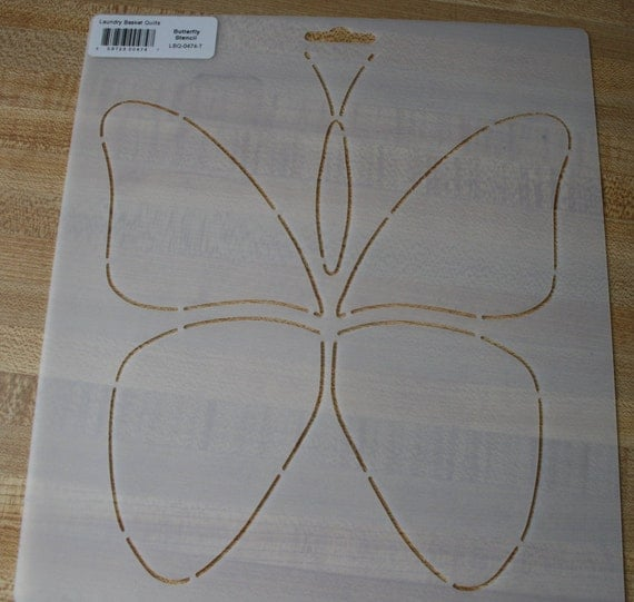 How To Use Stencils In Quilting : Large Butterfly Stencil Edyta Sitar Quilting Applique