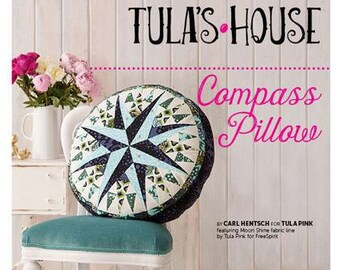 Compass Pillow Sewing Pattern Download (884134)