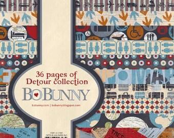 """Bo Bunny, """"Detour"""" 6x6 Paper Pad"""