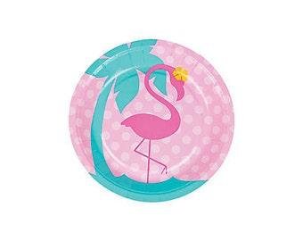 Flamingo Dessert Plates
