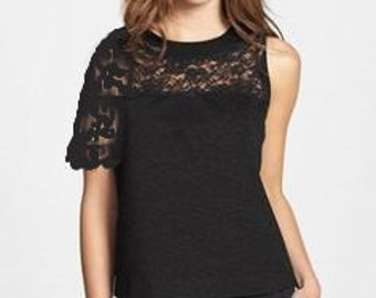 Romantic Black Lace Attachable Sleeves