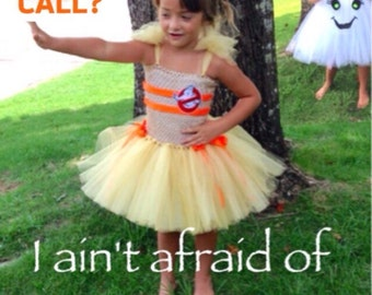 Ghostbuster style Tutu Costume *Inspired by the New Ghostbusters