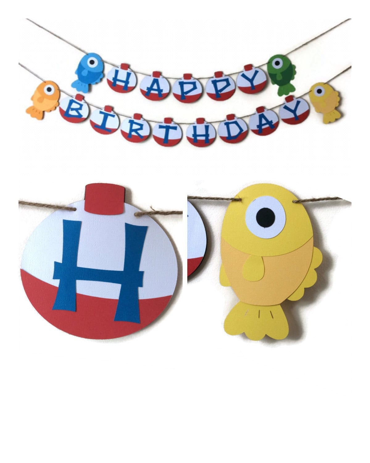 happy birthday fishing banner fishing banner bobber