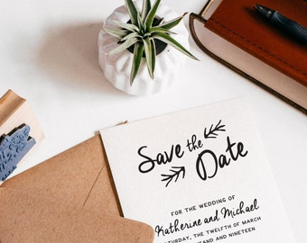 Save The Date Stamp (W001)