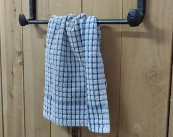 Railroad Spike Towel Rack