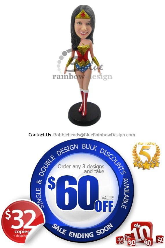 Custom Bobblehead Wonder Woman Wonder Woman Custom