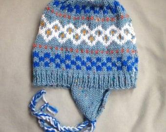 Nordic ear flap hat
