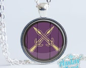 Riften Shield Necklace Skyrim Jewelry, gifts for gamers, geekery, cosplay, gamers, gift for boyfriend, gift for girlfriend