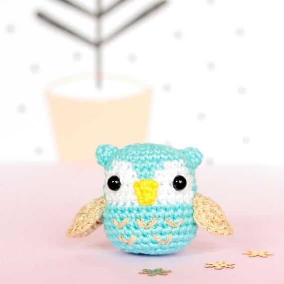 Amigurumi Stuffed Animals : Plush owl stuffed animal Amigurumi owl crochet Owl by SoCroch