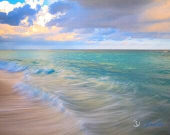 Beautiful Bermuda ~ Bermuda, Long Bay Beach, Pink Sand, Artwork, Beach Photography, Wall Art, Coastal, Home Decor, Ocean, Seascape, Tropical