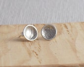 Sterling silver domed rou...