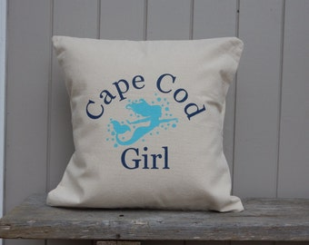 Cape Cod Girl PILLOW COVER