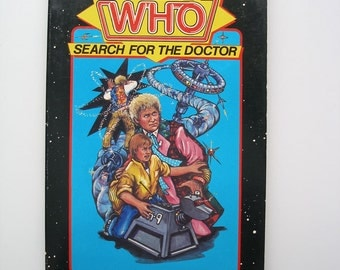 RARE Make Your Own Adventure with Doctor Who - Search for the Doctor 1986