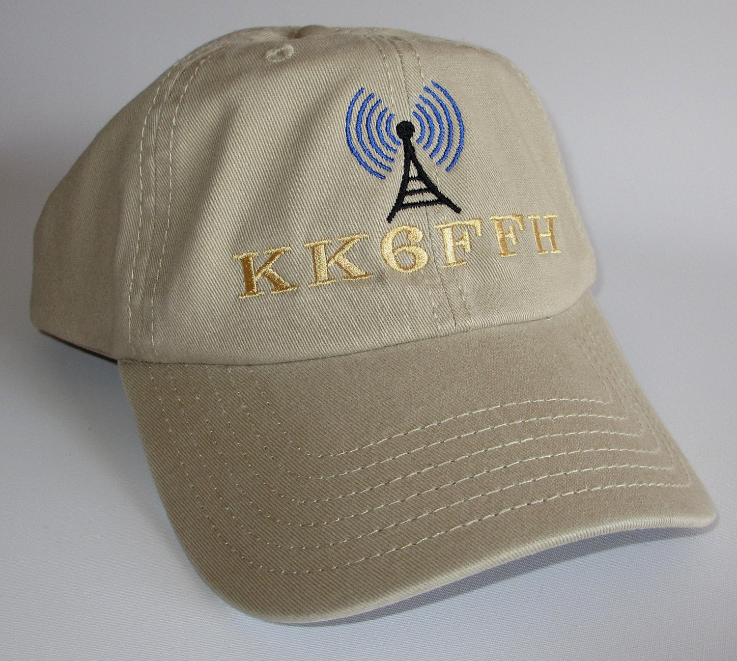 Custom embroidered hats caps ham radio hat