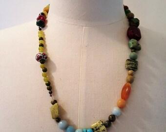 Bohemian rhapsody necklace