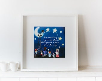 Counting My Lucky Stars - Beautiful New Wall Art