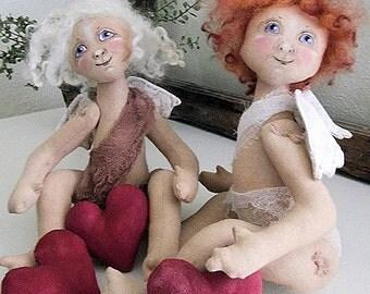 EB Angel Cupid by Edna Bridges