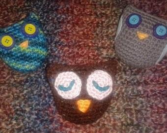 "Crochet ""RattOwls""! (Owl Rattles)"
