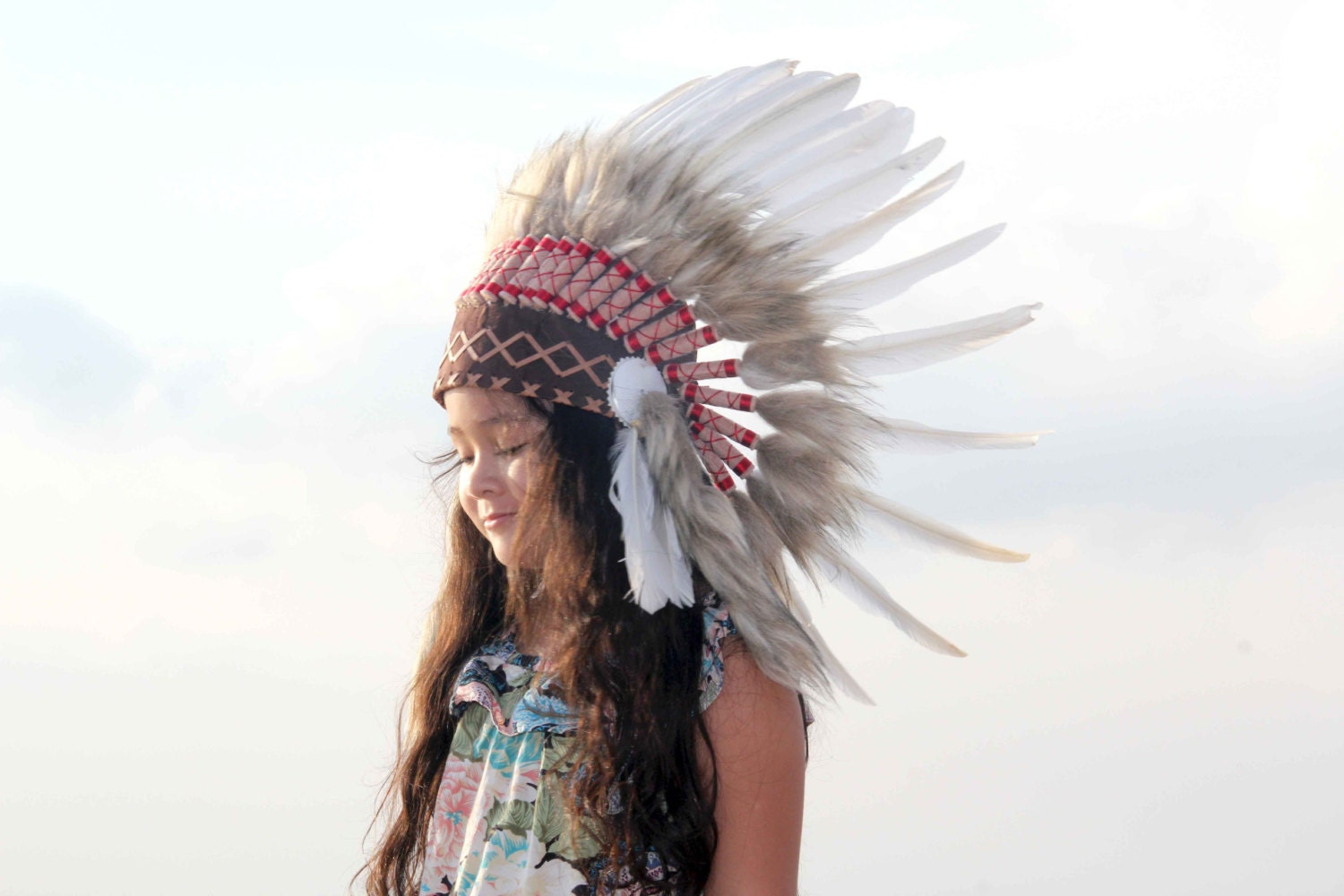 how to make an indian headdress for kids