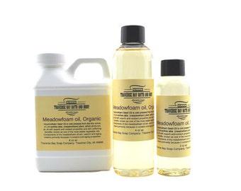 Meadowfoam Seed Oil ,  2 oz -4 oz- 8 oz Soap making, lotion, creams, massage oil, bath, beauty, lip balm