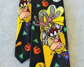 Looney Tunes Halloween Necktie