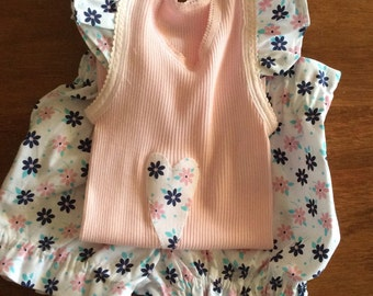 Size 2 Frilled  Embellished singlet and bloomers, Girls bloomers, bloomers, girls,shorts, girls singlet, bloomers set, ruffled shorts