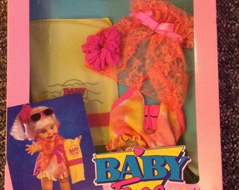 "Galoob Baby Face Fashions ""Goin' Swimmin'"" NRFP"