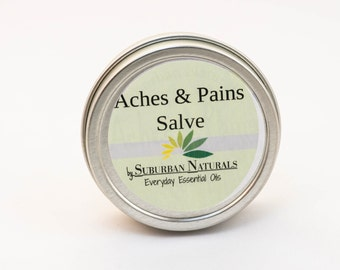 Aches & Pains Salve 2 oz