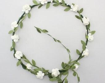 Flower Crown Headpiece, Boho, Wedding Crown, Hippie
