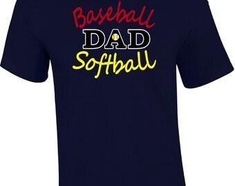 Baseball Dad Shirt, Softball Tee, Baseball Dad Tee, Softball Dad T-shirt, Baseball Dad Shirt, Softball Dad Tee, Softball Dad Shirt