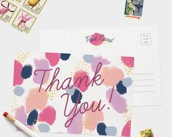 Thank You Postcard Set - 8 Postcards